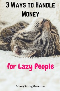 3-ways-to-handle-money-for-lazy-people