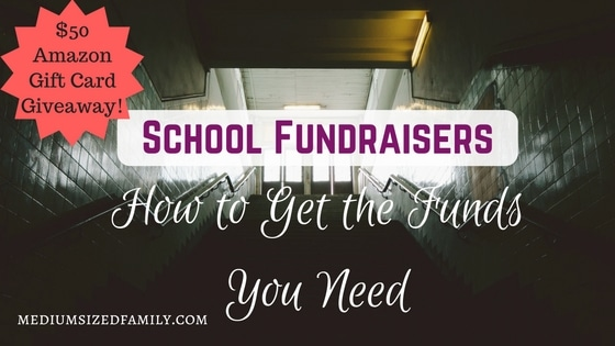 School Fundraisers: How to Get the Funds You Need (Plus a Giveaway!)
