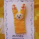finger puppet card