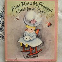 a christmas book at bedtime