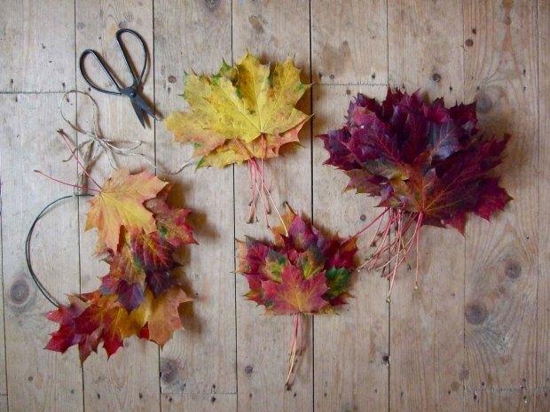 placing-leaves