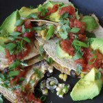 The Betty Crocker Project : Vegan Crab and Corn Quesadillas