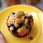 The Betty Crocker Project: Blueberry Coffee Cake Muffins