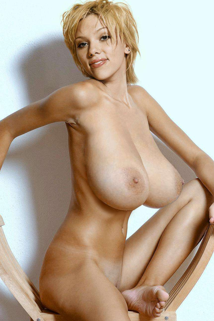 Celebity large breasts