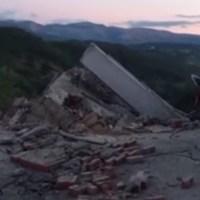 イタリア地震の様子