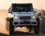 Armored Mercedes G63 AMG 6X6