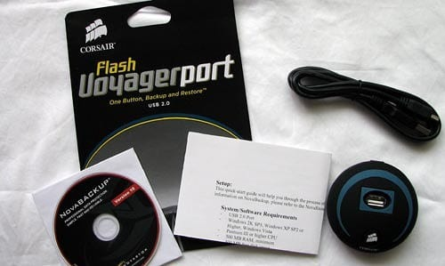 MEGATech Reviews: Corsair Flash Voyager Port Backup Device   voyagerport 2