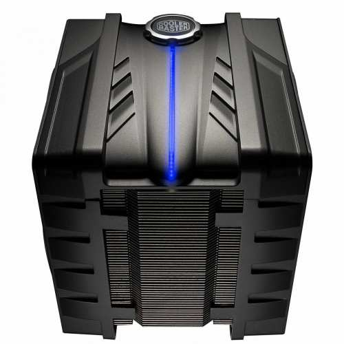 The Cooler Master V6GT arrives, makes other CPU coolers envious   V6 GT front BlueLight 500x500