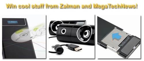 Techie Twitter Tuesday Giveaway   Win ZALMAN Gear!   zalmancontest win 500x211