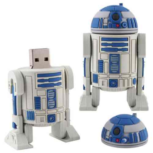 MEGATech Showcase: Flash Drive Madness   R2 D2 USB Flash Drive 500x500