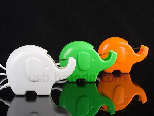 MEGATech Showcase: Flash Drive Madness   elephant usb port 500x375