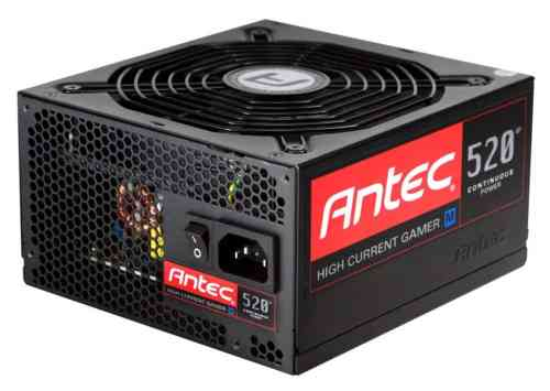Antec Announces the High Current Gamer M PSU Series   Antec HCG M 520 500x355