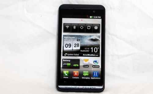 MEGATech Reviews   LG Optimus 3D Android Smartphone   lgoptimus3d 5 500x307