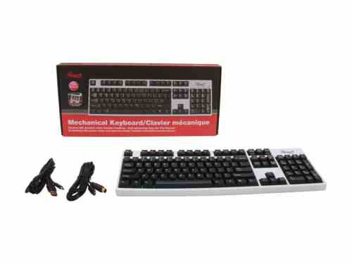 Rosewill Selling Limited Edition RK 9000 Keyboard in White   Rosewill RK 9000I Limited 01 500x375