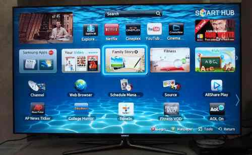 MEGATech Reviews: Samsung 55 Inch Series 7 Slim LED HDTV UN55ES7100F Review   samsungledhdtv 12 500x308