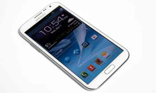 MEGATech Reviews   Samsung Galaxy Note II Android Superphone   galaxynote2 1 500x301
