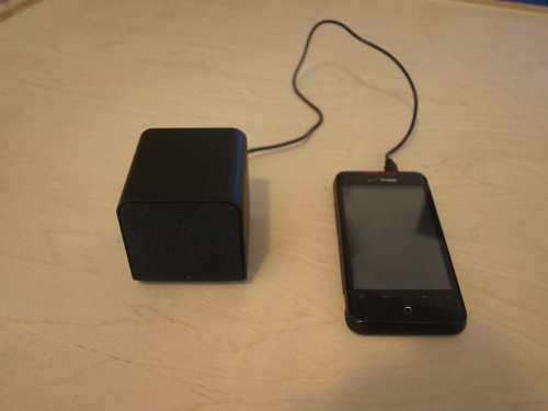 MEGATech Reviews: NuForce Cube Portable Speaker   P7045077 500x375