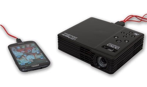 AAXA LED Showtime 3D Micro Projector Prepares to Shine in Three Dimensions   aaxa showtime1