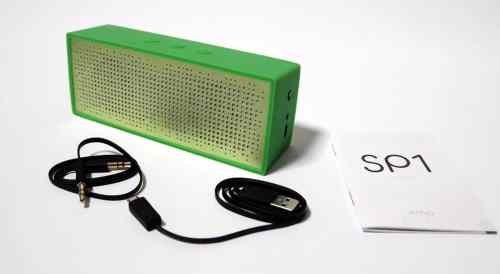 MEGATech Reviews   Antec AMP SP1 Bluetooth Speaker and Speakerphone   ampspeaker 4 500x274