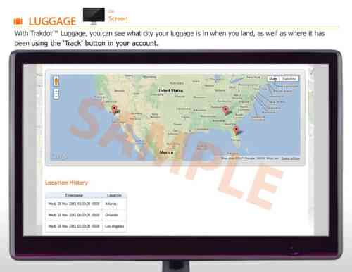 Trakdot Luggage Tracking Delivers Peace of Mind to Travelers   monitor 500x386