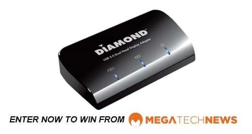 CLOSED! MEGATech Weekly Giveaway 3 of 3: Win a Diamond Multimedia DV100 USB 3.0 to DVI/HDMI Adapter   diamond contest3 500x265