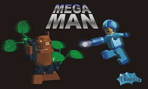 MEGATech Showcase: Theres a LEGO For Everyone   lego mega man concept by alatariel 500x301