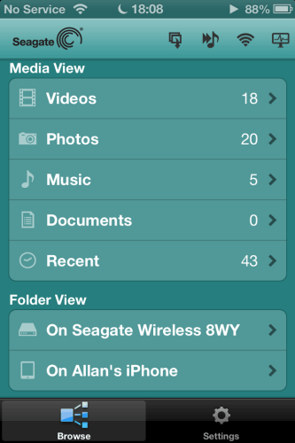 MEGATech Reviews   Seagate Wireless Plus Storage for Android, iPhone and iPad   Menu 333x500