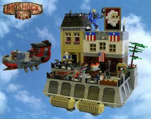 MEGATech Showcase: LEGO For Summertime   bioshock lego top 500x394