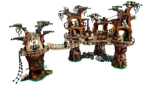 MEGATech Showcase: LEGO For Summertime   ewok village 500x277