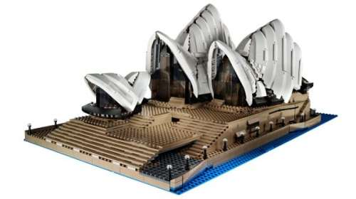 MEGATech Showcase: LEGO For Summertime   lego sydney opera house 600x337 500x280