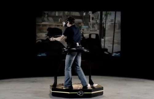 Virtuix Omni Makes Virtual Reality Gaming a Real Reality (Video)   omni 500x322