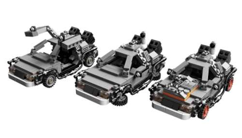 MEGATech Showcase: Dog Days of LEGO   LEGO Back to the future 500x285