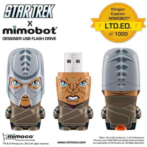 Comic Con 2013: Mimoco Unleashes New MIMOBOT Designer USB Flash Drives   ST Klingon MIMOBOT 612x612 500x500