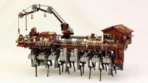 MEGATech Showcase: Dog Days of LEGO   lego strandbeest 600x338 500x281