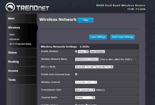 MEGATech Reviews   TRENDnet TEW 751DR N600 Dual Band Wireless Router   trendnet 8 500x337