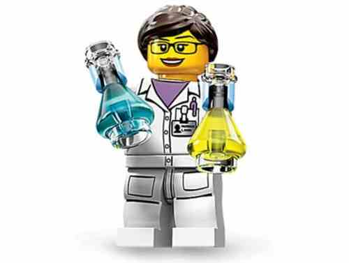 MEGATech Showcase: LEGO Creations and Playsets   lego female scientist 500x377