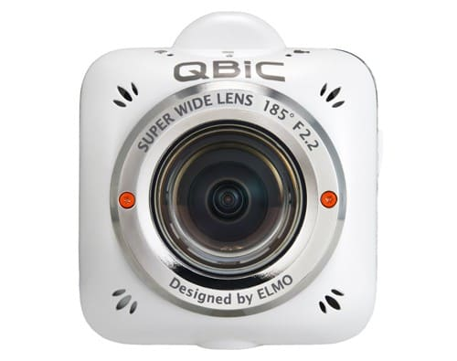 ELMO Bringing a New Wearable Action Camera and Pocket Projector to CES 2014   QBiC Head on
