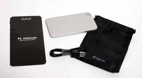 MEGATech Reviews   LUXA2 P2 5000mAh Aluminum Power Bank   luxa2p2 2 500x276