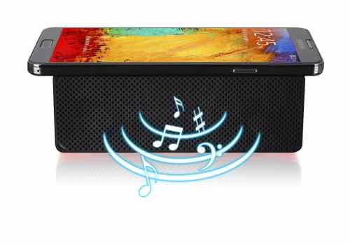 Just Touch with LUXA2 GroovyT Magic Boom Box Speaker   LUXA2 GroovyT requires no cables of any sort to use nor does it require any Wi Fi or Bluetooth connection to operate 500x350