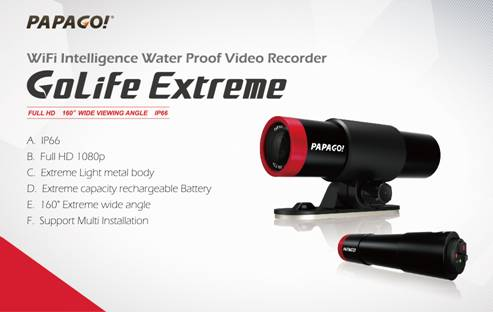Introducing the GoLife Extreme Action Cam from PAPAGO!   image002