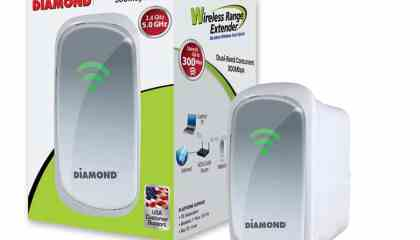 Diamond Dual Band 2.4Ghz5.0Ghz Wireless 802.11n Range Extender