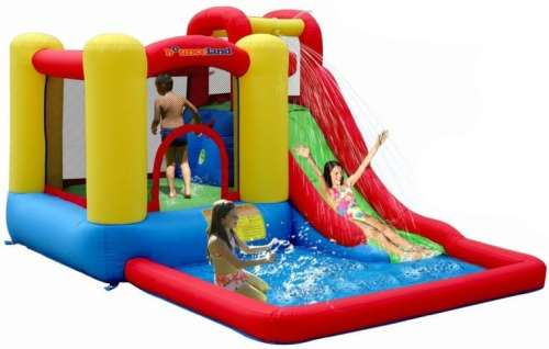 MEGATech Showcase: Summertime Beat the Heat Gear   Jump and Splash Bounce House Bouncer 500x318