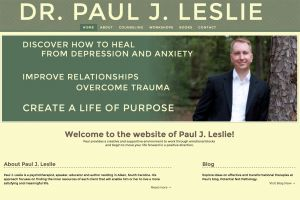 Dr. Paul Leslie website