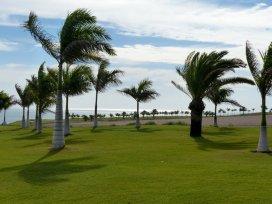Es ist windig auf Meloneras Golf