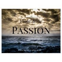 Finde deine Passion