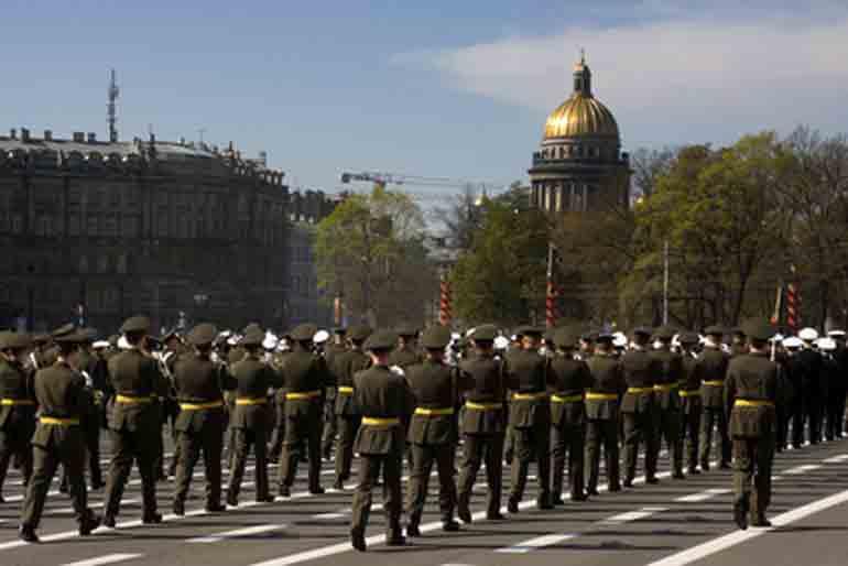Militaerparade