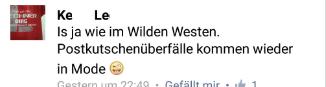Nicht zum lachen, eher zum weinen: Wer einem reißerischen Facebook-Post glaubt...