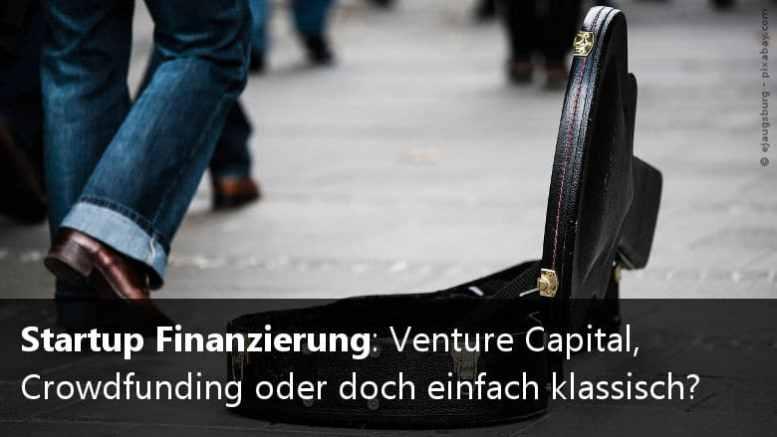 Startup Finanzierung