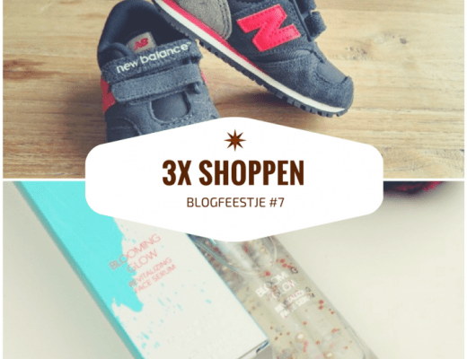 shoppen blogfeestje