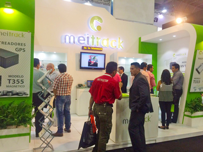Expo Seguridad Meitrack booth